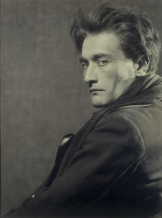 Man Ray: Portrait of Antonin Artaud, 1926.