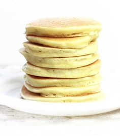 Hundreds of food bloggers have covered the grain free pancake. Here I am following suit with my perfected Grain Free Coconut Flour Pancakes.