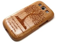 houten Samsung Galaxy S3 hoes - Levensboom