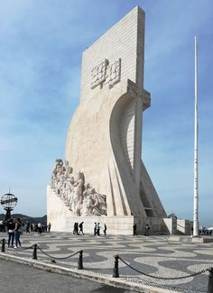 The Padrão dos Descobrimentos (Discoverers Memorial) at Belem symbolises the Portuguese Age of Discovery and explorers like Bartolomeu Diaz and Vasco da Gama who were early visitors to The Cape E Journals, Restaurant Specials, South African Wine, Age Of Discovery, Wine Education, Belem, New View, Portuguese, Portugal