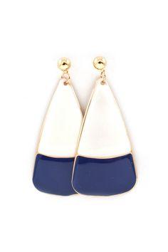 Sonoma Earrings in Navy
