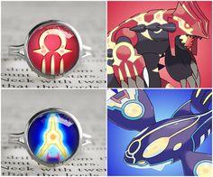 Pokemon Primal symbol rings Primal Kyogre and Primal Groudon #alphasapphire #omegaruby #treatsforgeeks