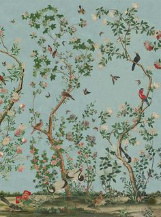 About our chinoiserie wallpapers — Allyson McDermott home decor room furniture shui home design interior design rooms studio design decorating Bathroom Wallpaper, Of Wallpaper, Designer Wallpaper, Bathroom Grey, Wallpaper Panels, Bathroom Modern, Pattern Wallpaper, Chinoiserie Wallpaper, Chinoiserie Chic
