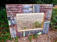 30x24 Steel Mirror by VaughanFurniture on Etsy, $225.00