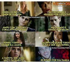 Todos,por piores que sejam (tipo o Kai ali) tiveram uma história ou um motivo que os tornou o maus... (Tem a exceção da Caroline,Stefan,Bonnie e Rebekah mas nessa exceções são a força deles que nos impressionam...)♥