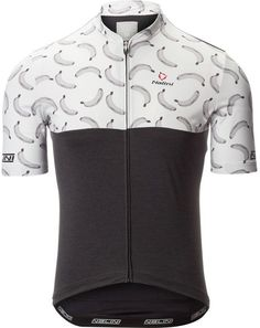 Nalini San Babila Jersey - Short-Sleeve Black And White Man 1167063ea