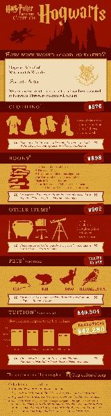 Hogwarts infographics