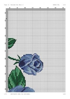Cross Stitch Bookmarks, Cross Stitch Embroidery, Pixel Pattern, Prayer Rug, Cross Stitch Flowers, Needlework, Canvas, Jewellery, Blue Roses