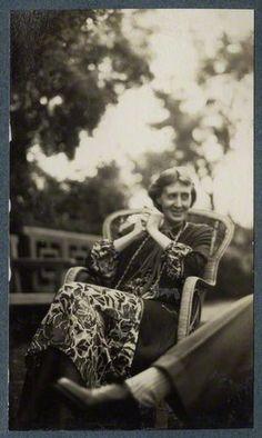 Virginia Woolf smiling, June 1926.