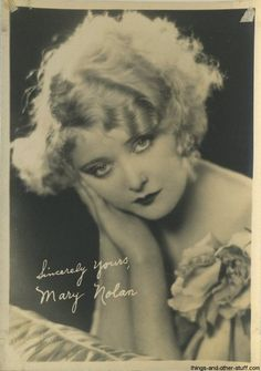 Mary Nolan Fan Photo