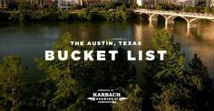 AUSTIN, TEXAS:  So much to see, so much to do. To narrow where to start, we compiled this bucket list full of the essential Austin activities. Bookmark this page and use it as your guide for how to have the best time in Austin!          Catch Some Live Mus