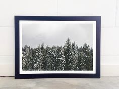 East End Prints - Snow Trees, £19.95 (http://www.eastendprints.co.uk/products/snow-trees.html)