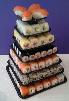 Sushi Cake... My favorite kind of cake!