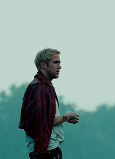 I just love this photo of Ryan in 'The Place Beyond the Pines'