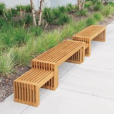 Superbe Strata 6 Ft. Benches And Interlocked Side Tables. Outdoor Bar Height Table,  Outdoor