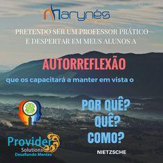 Provocar a AUTORREFLEXÃO #nobrainnogain