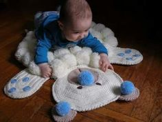 Home Depot Carpet Runners Vinyl Shag Carpet, Diy Carpet, Rugs On Carpet, Crochet Mat, Crochet Carpet, Felt Ball Rug, Home Depot Carpet, Painting Carpet, Knit Rug