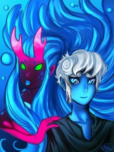 Ava's demon - Gil Marverde and Nevy Nervine by MelSpontaneus.deviantart.com on @deviantART
