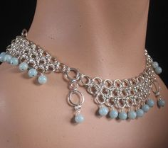 332 best images about Chainmaille necklaces on Pinterest | Choker ...