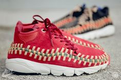 Nike Footscape Woven Chukka Knit 'Red Reef' & 'Midnight Fog' • Highsnobiety