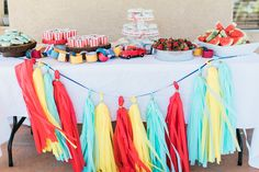 Colorful Co-Ed Baby Shower - Project Nursery