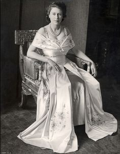 Princess Elizabeth Alexandra Mary Windsor, prior to being crowned Queen