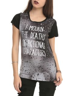 I Mourn Characters Girls T-Shirt 3XL | Hot Topic