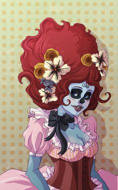 SugarSkull by Sirothello.deviantart.com on @DeviantArt