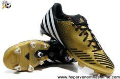 Buy New (V20979) Bright Gold-Black-Running White Adidas Predator LZ TRX FG