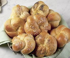 Knotted Dinner Rolls recipe