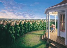 Take a look at this amazing Rob Gonsalves Magic Realism Illusions illusion. Browse and enjoy our huge collection of optical illusions and mind-bending images and videos. Optical Illusion Paintings, Amazing Optical Illusions, Illusion Kunst, Illusion Art, Rene Magritte, Canadian Painters, Canadian Artists, Robert Gonsalves, Vogel Clipart