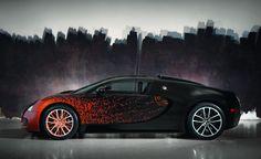 Bugatti Grand Sport Venet Makes Video Debut. For more, click http://www.autoguide.com/auto-news/2012/12/bugatti-grand-sport-venet-makes-video-debut.html