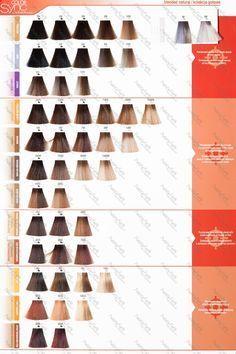 Paleta Matrix Color Sync   paleta kolorów farb do włosów