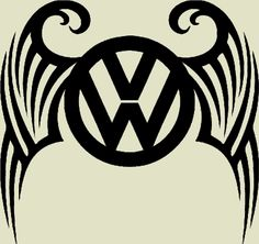 Volkswagen tribal decal