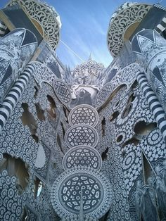Temple of Honor | Burning Man ~ David Best