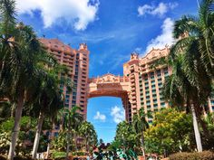 Atlantis Resort in Nassau Paradise Island, The Bahamas.