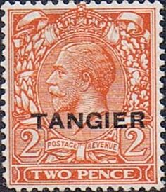 Morocco Agencies TANGIER 1927 SG 234 King George VI Fine Mint SG 234 Scott 504 Condition Fine LMM Only one post charge applied on multipule purchases
