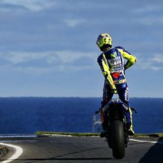 Classic Vale. ~~ Valentino Rossi (@ValeYellow46)