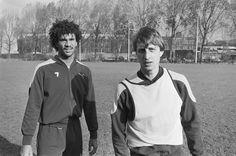Ruud Gullit & Johan Cruyff (1983) #Feyenoord