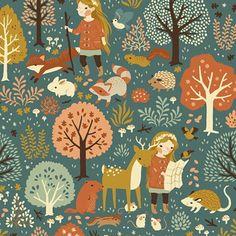 Birch-Organic-Fabric-Acorn-Trail-Nature-Hike-Organic-CANVAS-FQ