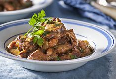 If you've never cooked lamb neck before, don't be put off by the name. It's the perfect cut for slow cooking! It just falls apart in this rich stew recipe.
