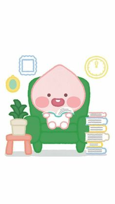 Cartoon Wallpaper, Apeach Kakao, Korean Stickers, Kakao Friends, Cute Korean, Pretty Art, Anime Chibi, Cute Stickers, Cute Designs