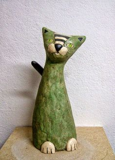 cactus de papel mache - Buscar con Google