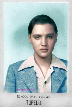 Elvis was not a beaty is his younger days. But he became the sexiest and most handsome man who has ever lived.