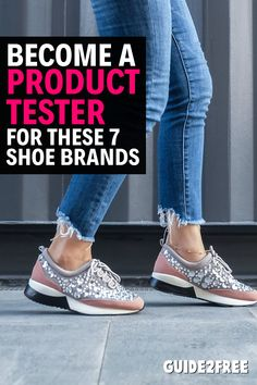 Did you know almost all the major shoe brands have product testing panels where you can get FREE shoes and FREE clothing to test? Just apply and let them know a little about the activities you participate in and they may just choose you as a wear tester.