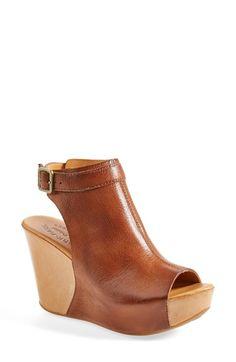 Kork-Ease™ 'Berit' Wedge Sandal (Women) available at #Nordstrom