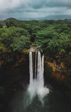 Nature is Life | Wailua Falls, Hawaii | By - pray4julian