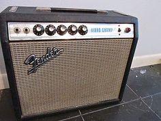 Fender Silverface Vibro Champ Tube Amp 1972 | eBay
