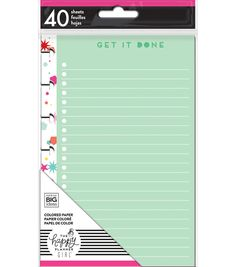 The Happy Planner Girl? Trendsetter Collection Mini Note Paper