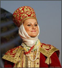 Native russian costumes | national costumes show 1